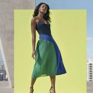BNWT Cushnie x Target Pleated Midi Dress